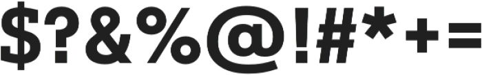 Justus Pro Bold otf (700) Font OTHER CHARS