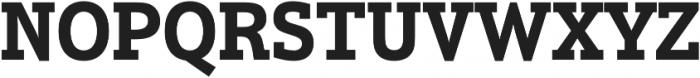 Justus Pro Bold otf (700) Font UPPERCASE