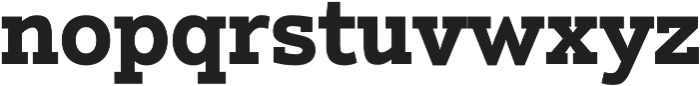 Justus Pro Bold otf (700) Font LOWERCASE