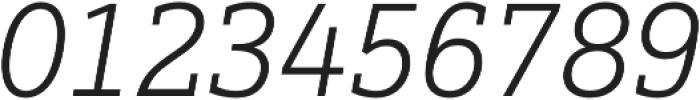 Justus Pro Light Italic otf (300) Font OTHER CHARS