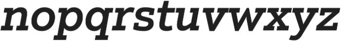 Justus Pro Medium Italic otf (500) Font LOWERCASE
