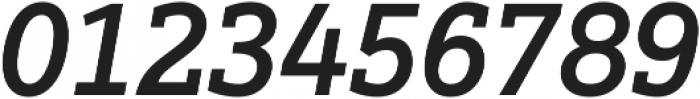 Justus Pro Medium Italic ttf (500) Font OTHER CHARS