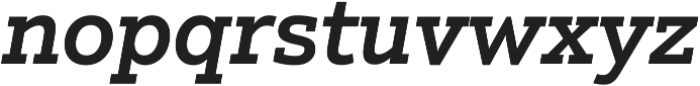 Justus Pro Medium Italic ttf (500) Font LOWERCASE
