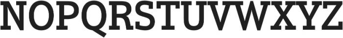 Justus Pro Medium ttf (500) Font UPPERCASE