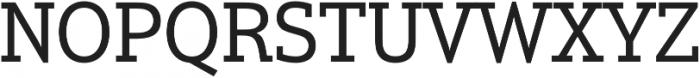 Justus Pro Regular otf (400) Font UPPERCASE