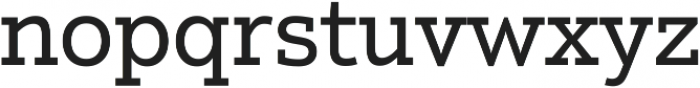 Justus Pro Regular ttf (600) Font LOWERCASE