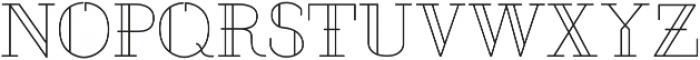 Justus ttf (400) Font UPPERCASE