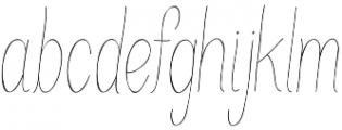 Juvenile otf (100) Font LOWERCASE