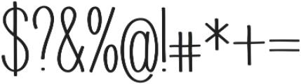 Juvenile otf (700) Font OTHER CHARS