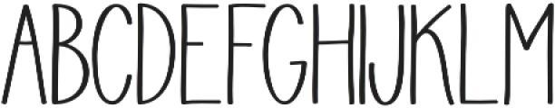 Juvenile otf (700) Font UPPERCASE