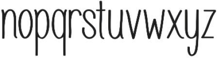 Juvenile otf (700) Font LOWERCASE