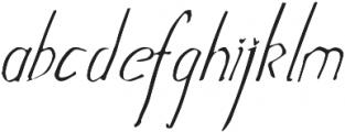 julietta ttf (400) Font LOWERCASE