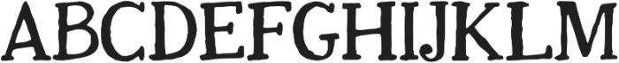 justbecool regular otf (400) Font UPPERCASE