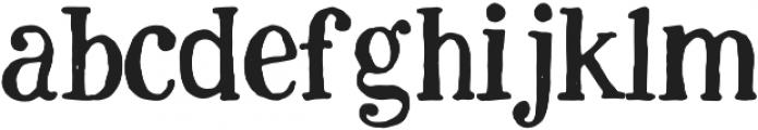 justbecool regular otf (400) Font LOWERCASE