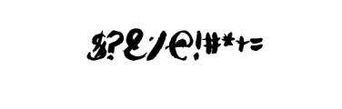 Julyan Typeface Font OTHER CHARS