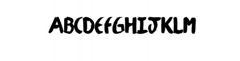 Julyan Typeface Font UPPERCASE