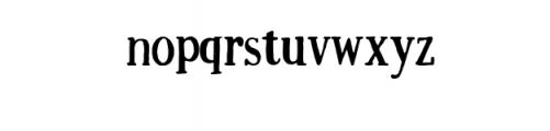 Just Be Cool Custom Font Font LOWERCASE
