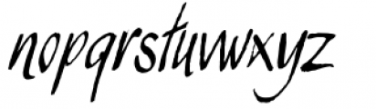 Juliana Font LOWERCASE