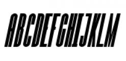 Julienne Bold Italic Font UPPERCASE