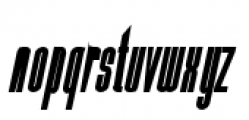 Julienne Bold Italic Font LOWERCASE