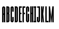 Julienne Bold Font UPPERCASE