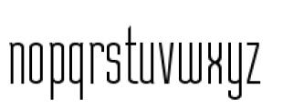 Julienne Light Font LOWERCASE
