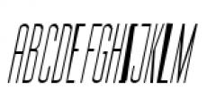Julienne Slim Light Italic Font UPPERCASE