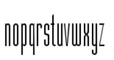 Julienne Slim Light Font LOWERCASE
