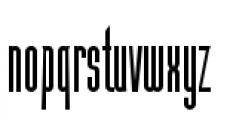 Julienne Slim Plain Font LOWERCASE