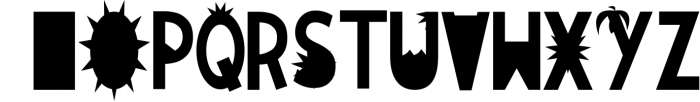 JUNE DAYS OpenType SVG otf Font Font LOWERCASE
