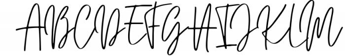 JUSTER SCRIPT Font UPPERCASE