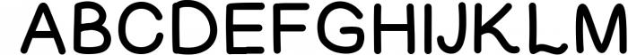 Jubilation Sans Serif Handwritten Font Font UPPERCASE