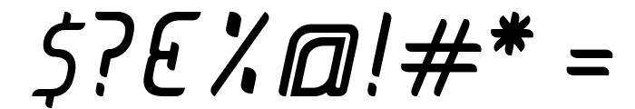 JUICE Italic Italic Font OTHER CHARS