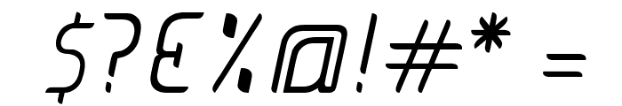 JUICE Light Italic Italic Font OTHER CHARS