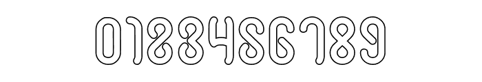 JUSSTA-Hollow Font OTHER CHARS