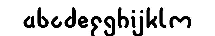 JUSSTA-Light Font LOWERCASE
