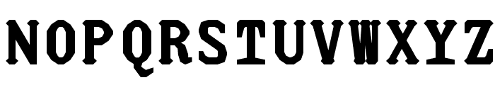 JUstice Mono Title Font UPPERCASE
