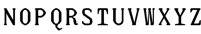 JUstice Mono Font UPPERCASE