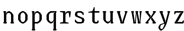 JUstice Mono Font LOWERCASE