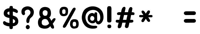 Jua Regular Font OTHER CHARS