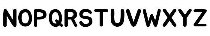 Jua Regular Font UPPERCASE