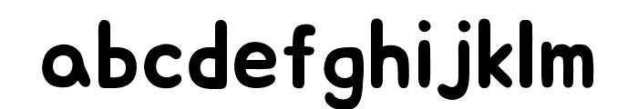 Jua Regular Font LOWERCASE