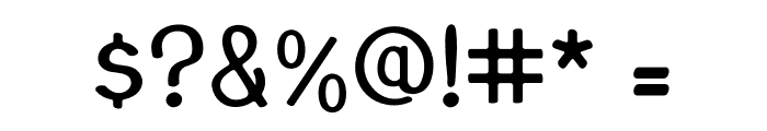 JuanMikes Font OTHER CHARS