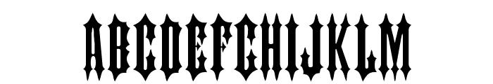 Judas Font UPPERCASE