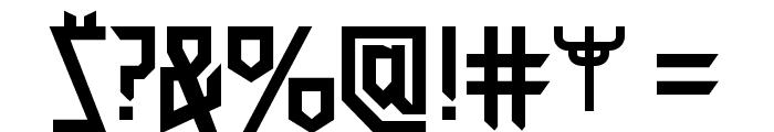 JudasPriest Font OTHER CHARS