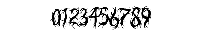 Judgement Territory Font OTHER CHARS