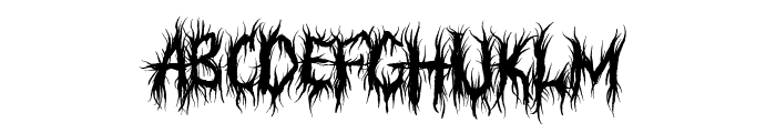 Judgement Territory Font LOWERCASE