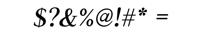 Judson Italic Font OTHER CHARS