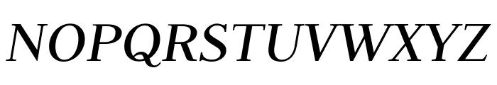 Judson Italic Font UPPERCASE