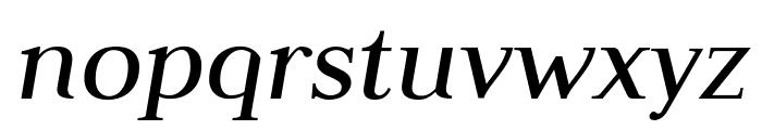 Judson Italic Font LOWERCASE